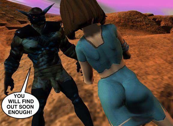 Mindy - Sex Slave On Mars c001-025 - part 4