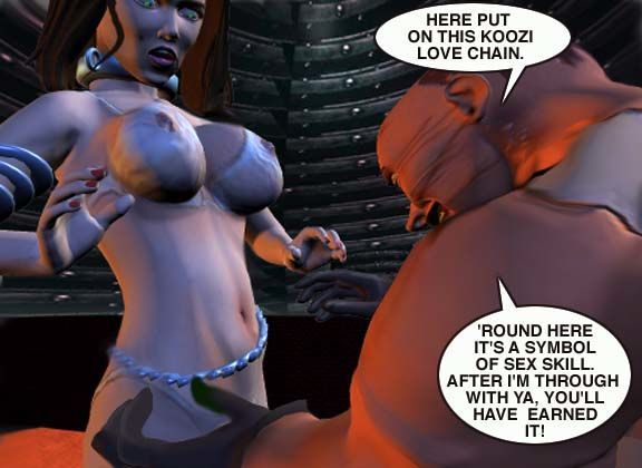 Mindy - Sex Slave On Mars c001-025 - part 11
