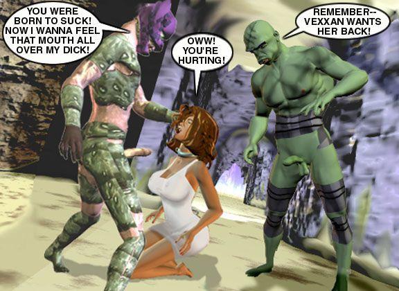 Mindy - Sex Slave On Mars c101-125
