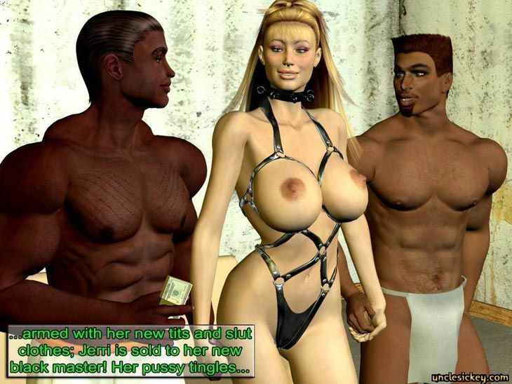 Black Cock Sex Slave Uncley Sickey 3d Comic +Bonus Comics