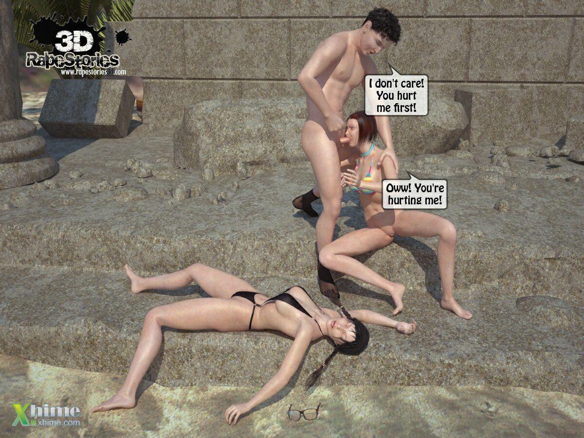 Man rapes girls at beach - part 2