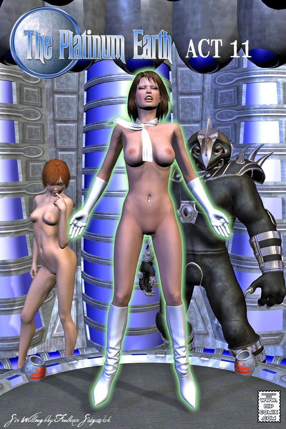 [3D] Platinum Earth 10-13 - part 2