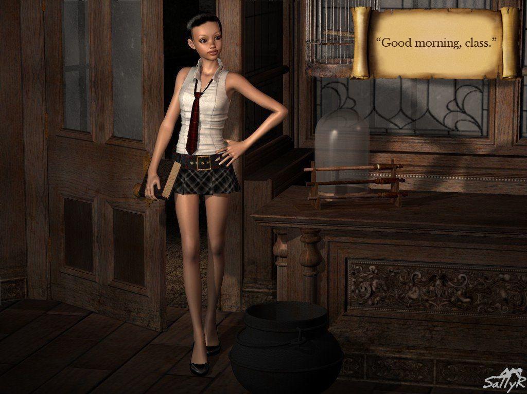 [3D] Miss Peachbottom 1