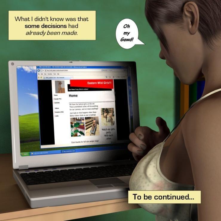[Incipient] Zasie Internet Girl Ch. 1: Invitation - part 3