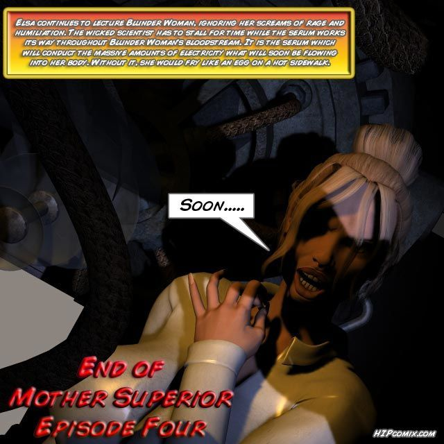 Blunder Woman Vs. Mother Superior [English] - part 5
