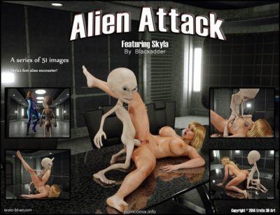 Blackadder-Alien Attack