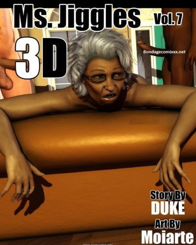 Ms Jiggles 3D  Vol 7- Duke Honey