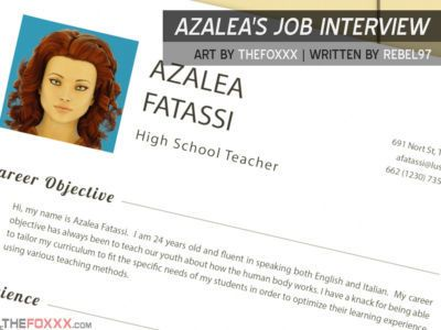 Foxxx  Azaleas Job Interview