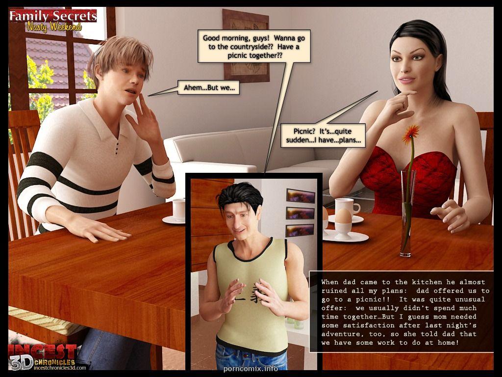 الأسرة سر سيئة عطلة نهاية الأسبوع جزء 2 في 3d الجنس الصور