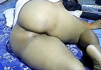 Asian girl showing big thick ass on webcam. My X-mas live webcam show: 4xcams.co - 3 min