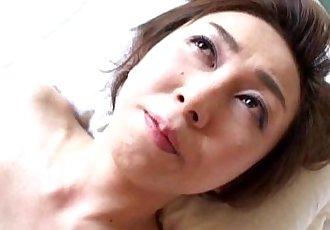 Sultry Japanese MILF Tastes Some Hard Pounding Sex - 5 min