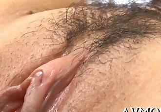 Slutty mom meets 2 big cocks - 5 min