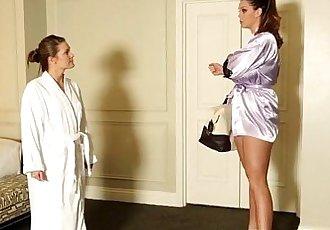 Lesbian masseuse tasted