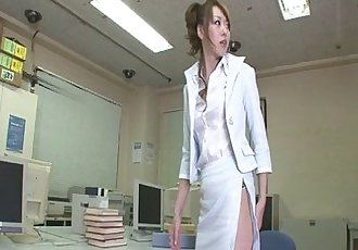 Fondled and fucked from behind in the office - 8 min