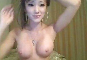 Beautiful Korean Girl Strips - 6 min