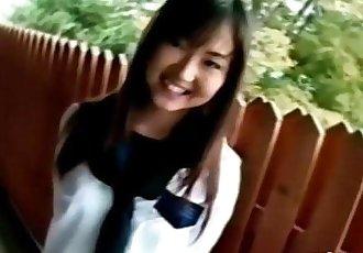 Hairy Pussy Japanese Schoolgirl - 5 min