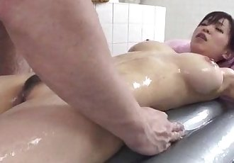 Miina Kanno takes on a big dick while in the shower - 12 min