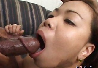 Nyomi is riding a cock - 30 min