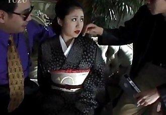 Miho Aikawa gets vibrator in hairy vagina - 10 min