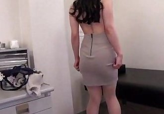 Busty milf Miu Watanabe receives abig cock to play with - 12 min