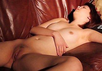 Tiny Titted Teen Lily Masturbating - 4 min HD