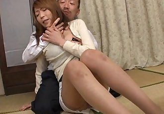 Concerned milf gets fucked in a hot threesome - 1 min 3 sec