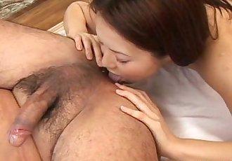 Sexy Hinayo Motoki wildest cumshot! - 5 min