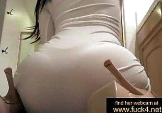 Asian amateur goddess rub wet pussy at live show - www.fuck4.net - 25 min