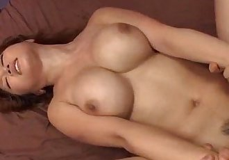 Yuki Touma superb angel pleases two horny lads - 12 min