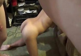 Amateur asian milf giving head in the living room - 35 min