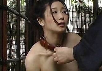 Asian slut loves to be treated like a bitch - 8 min