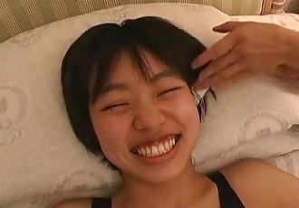 Subtitled real Japanese teen sneezing and tickle teasing - 5 min