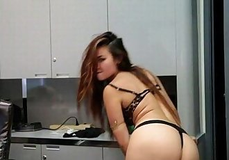 Office Dancing and Stripping - 12 min HD