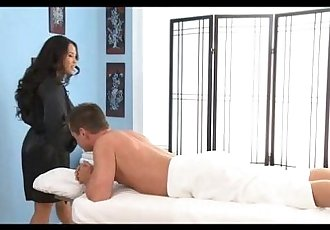 Jessica Bangcock Massages a Hard Dick - 10 min
