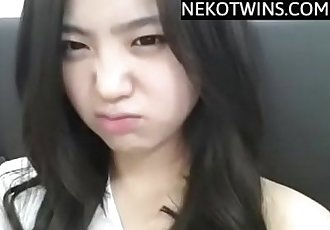 Korean Girl masturbates in Shower - NekoTwins.com - 35 min