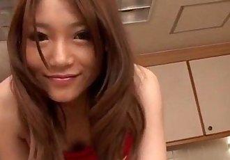 Serious pussy play along lingerie model Aoi Yuuki - 12 min