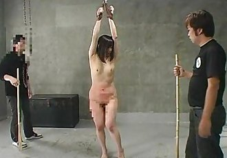 Asian slut getting ass spanked and she screams - 8 min
