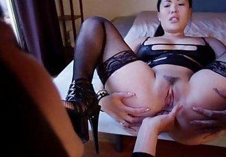 Fetish Fanatic #12 London Keyes, Chastity Lynn, Dana DeArmond, Gabriella Paltrov - 22 min HD