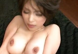 Saki Ootsuka Japanese milf gets pumped right - 12 min
