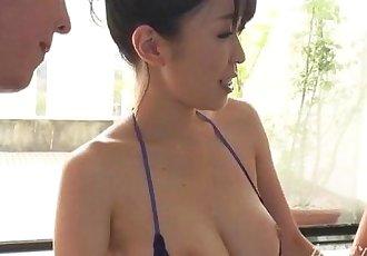 busty asian boobjon on bath threesome - 12 min