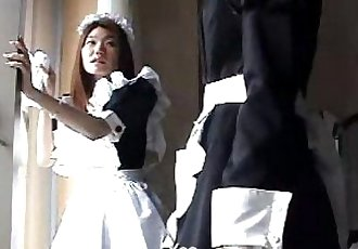 017 Maid Training - Spanking - 4 min