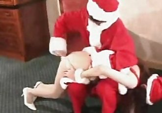 015 Red Bottomed Reindeer Spanking - 5 min
