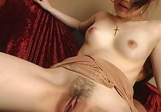 Japanese girl toyed with and fucked - 14 min
