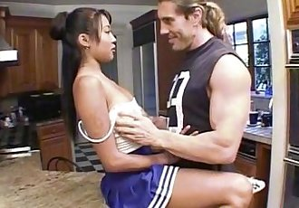 Lilly Thai - Babydoll Cheerleader - 19 min