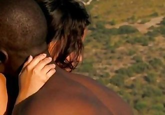 Ebony Adventures In Outdoor Love - 6 min