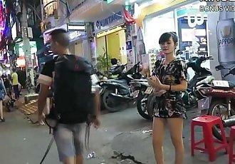 North Korean Defector Picking Up Thai Girls! - 10 min HD