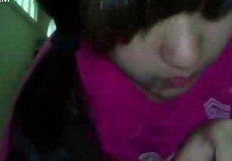 teen korean girl blowjob - 7 min