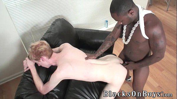 Aaron Rouge Is No Longer A Stranger To Black DickHD