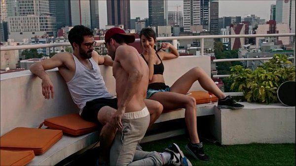 Very sexy scene of the tv show Sense8