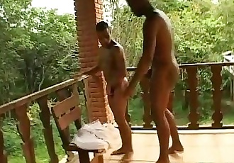 Cum On My Chest After Muscular Asshole Sex